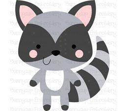 Boxy Raccoon SVG
