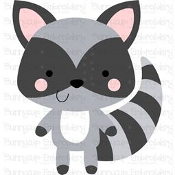 Boxy Raccoon SVG