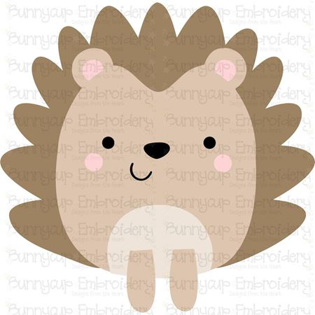 Boxy Hedgehog SVG