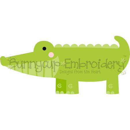 Boxy Alligator SVG