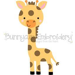 Boxy Giraffe SVG