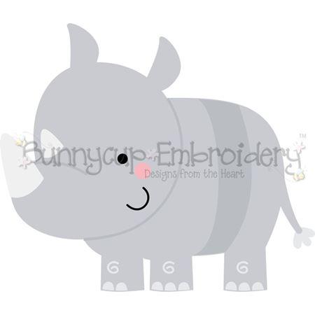 Boxy Rhino SVG