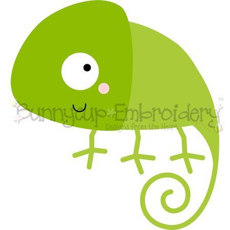 Boxy Chameleon SVG
