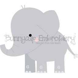 Boxy Elephant SVG