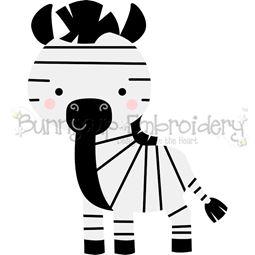 Boxy Zebra SVG
