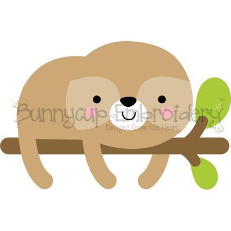 Boxy Sloth SVG