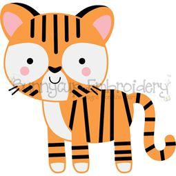 Boxy Tiger SVG