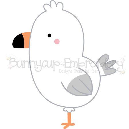 Boxy Seagull SVG