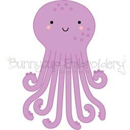 Boxy Octopus SVG