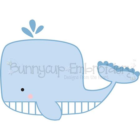 Boxy Whale SVG