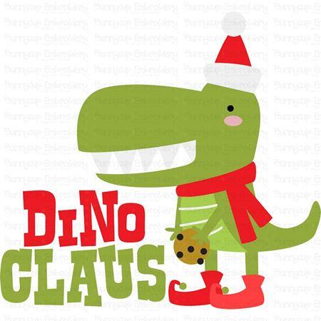 Dino Claus SVG