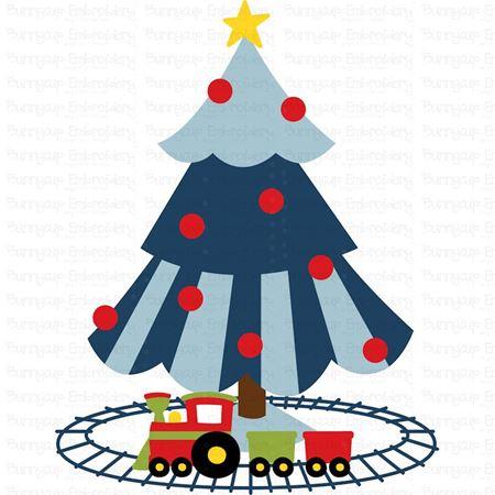 Boys Christmas Tree SVG