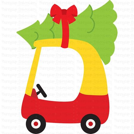Christmas Cozy Coupe SVG