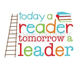 Today A Reader Tomorrow A Leader SVG