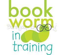 Bookworm In Training SVG