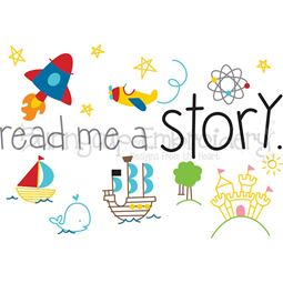 Read Me A Story SVG
