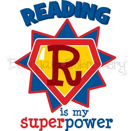 Reading Is My Super Power SVG