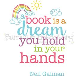 A Book Is A Dream You Hold In Your Hands SVG