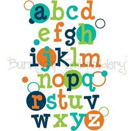 Alphabet SVG