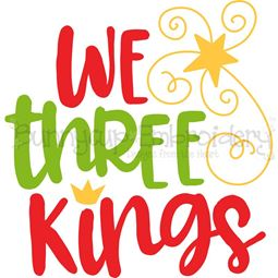 We Three Kings SVG