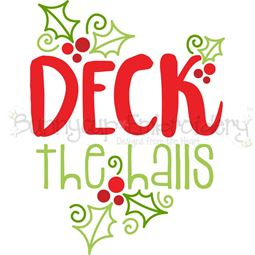 Deck The Halls SVG