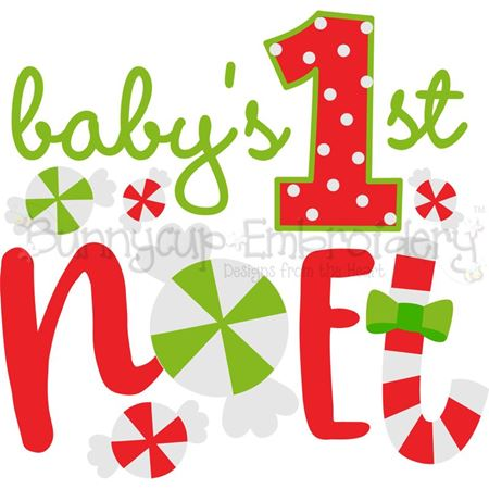 Baby's First Noel SVG