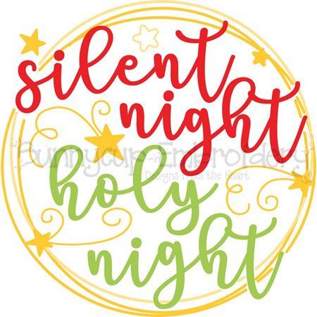 Silent Night SVG