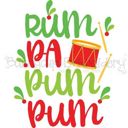 Rum Pa Pum Pum SVG