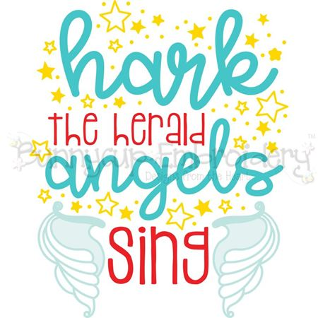 Hark The Herald Angels Sing SVG