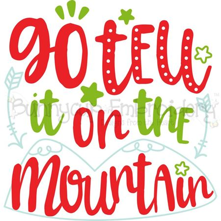 Go Tell It On The Mountain SVG