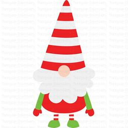 Boy Christmas Gnome SVG