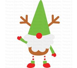 Boy Reindeer Gnome SVG