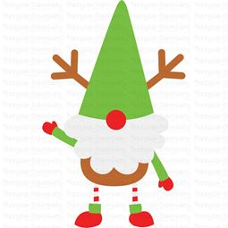 Boy Reindeer Gnome SVG
