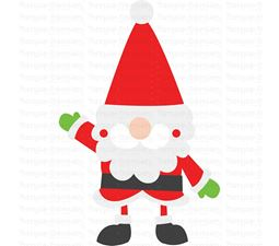 Santa Claus Gnome SVG