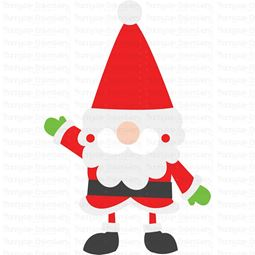 Santa Claus Gnome SVG