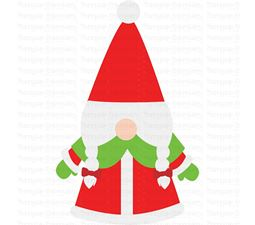 Mrs Claus Gnome SVG