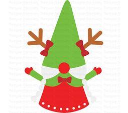 Girl Reindeer Gnome SVG