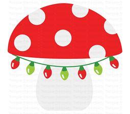 Christmas Mushroom SVG