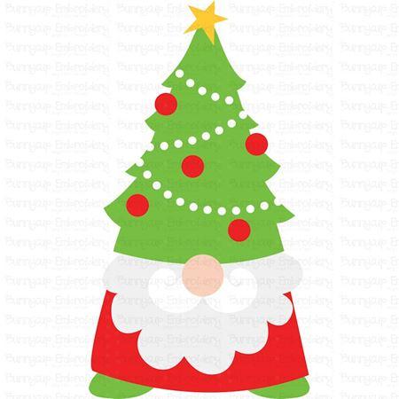 Christmas Tree Hat Gnome SVG