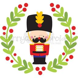 Nutcracker Laurel SVG