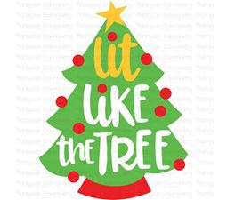 Lit Like The Tree SVG
