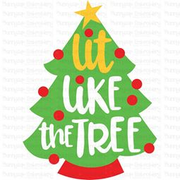 Lit Like The Tree SVG