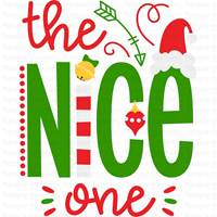 Christmas Nice List SVG