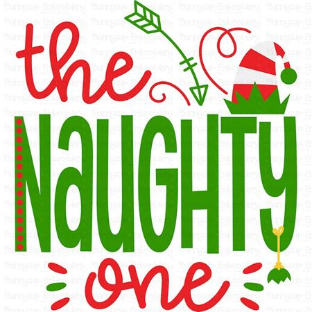 The Naughty One SVG