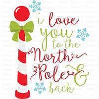 Christmas Sentiments Seven SVG