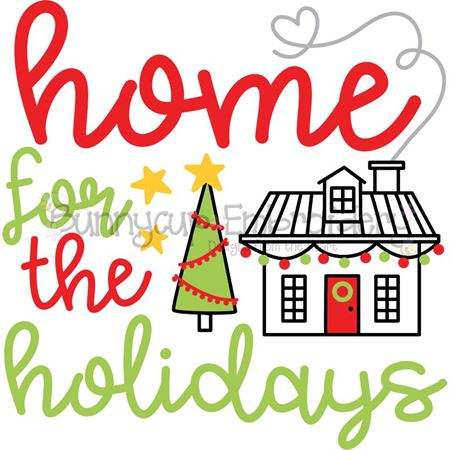 Home For The Holidays SVG