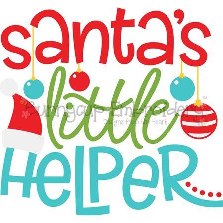 Santa's Little Helper SVG