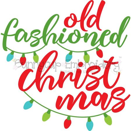 Old Fashioned Christmas SVG