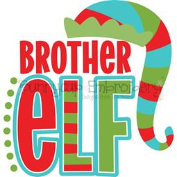 Brother Elf SVG