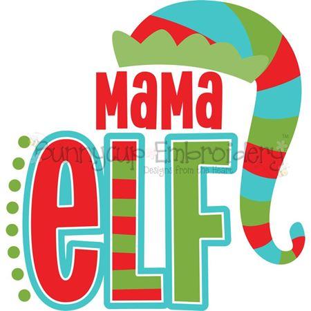 Mama Elf SVG